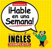 Cover of: Hable En Una Semana Ingles Completo