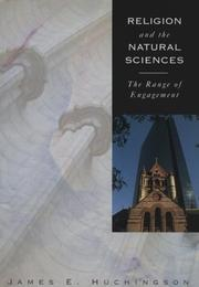 Cover of: Religion and the natural sciences |