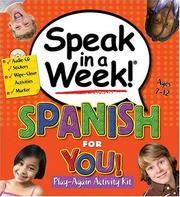 Cover of: Speak in a Week Spanish for You (Speak in a Week)