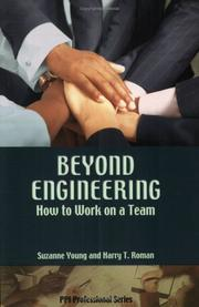 Cover of: Beyond engineering | Harry T. Roman