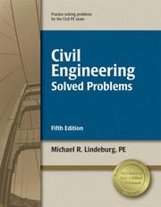 Cover of: Civil Engineering Solved Problems, 5th ed