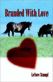 Cover of: Branded With Love | Lenore Stumpf