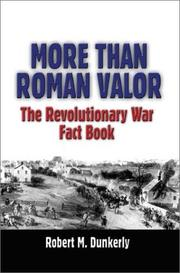 Cover of: More Than Roman Valor