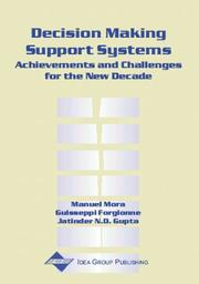 Cover of: Decision Making Support Systems |