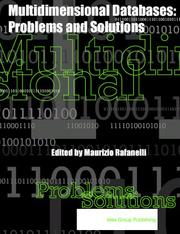 Cover of: Multidimensional Databases | Maurizio Rafanelli