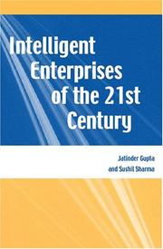 Cover of: Intelligent Enterprises of the 21st Century |