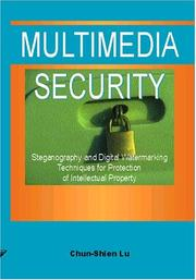 Cover of: Multimedia Security:  | Chun-Shien Lu