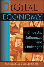 Cover of: Digital Economy:  |
