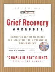 Cover of: The Grief Recovery Workbook | Ray Giunta