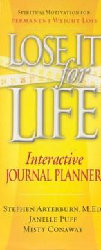 Cover of: Lose It for Life Journal Planner