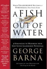 Cover of: A Fish Out of Water