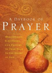Cover of: A Daybook of Prayer | Thomas Nelson