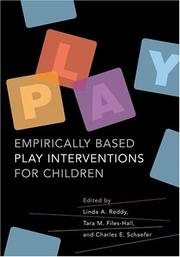 Cover of: Empirically based play interventions for children