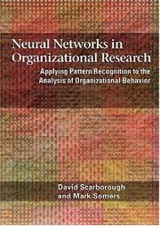 Cover of: Neural networks in organizational research | David Scarborough