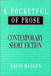 Cover of: A Pocketful of prose