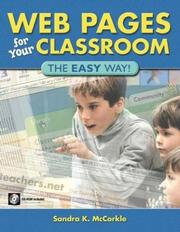 Cover of: Web Pages for Your Classroom | Sandra K. McCorkle
