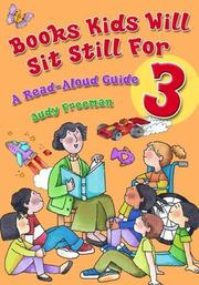Cover of: Books Kids Will Sit Still For 3 | Judy Freeman
