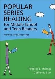Cover of: Popular series fiction for middle school and teen readers