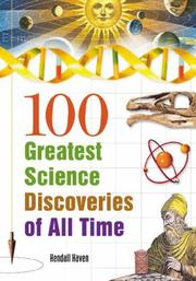 Cover of: 100 Greatest Science Discoveries of All Time | Kendall Haven