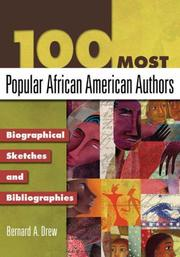 Cover of: 100 Most Popular African American Authors