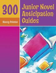 Cover of: 300 Junior Novel Anticipation Guides
