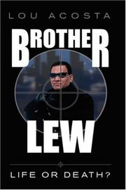Cover of: Brother Lew | Lou Acosta