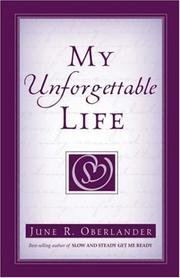 Cover of: My Unforgettable Life
