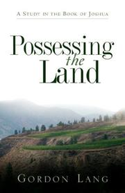 Cover of: Possessing the Land