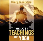 Cover of: The Lost Teachings of Yoga