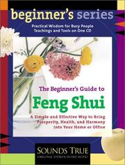 Cover of: The Beginner's Guide to Feng Shui