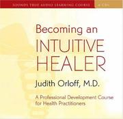 Cover of: Becoming an Intuitive Healer