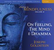 Cover of: Abiding in Mindfulness | Joseph Goldstein