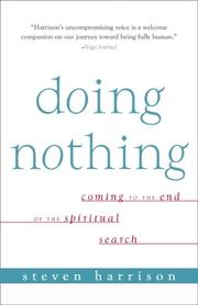 Cover of: Doing Nothing