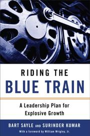 Cover of: Riding the Blue Train | Bart Sayle