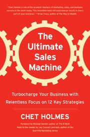 Cover of: The Ultimate Sales Machine | Chet Holmes