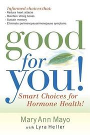 Cover of: Good for You!