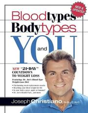 Cover of: Bloodtypes, bodytypes, and you