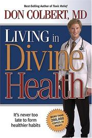 Cover of: Living in divine health