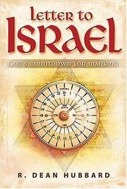 Cover of: Letter to Israel | R. Dean Hubbard