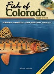 Cover of: Fish of Colorado Field Guide (Fish Of...) (Fish Of...)