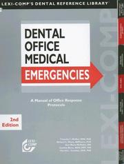 Cover of: Dental Office Medical Emergencies | Timothy F. Meiller