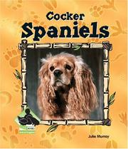 Cover of: Cocker Spaniels (Animal Kingdom Set II)