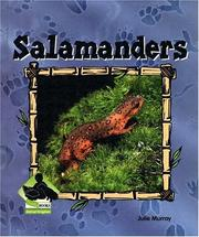 Cover of: Salamanders (Animal Kingdom Set II)