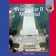 Cover of: World War II Memorial (Symbols, Landmarks, and Monuments)