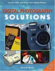 Cover of: Digital Photography Solutions