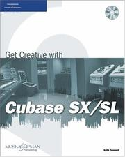 Cover of: Get Creative with Cubase SX/SL | Keith Gemmell