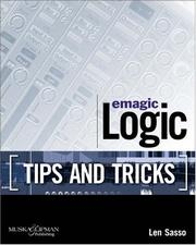 Emagic Logic Tips and Tricks by Len Sasso