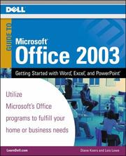 Cover of: Guide to Microsoft Office 2003