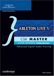 Cover of: Ableton Live 5 CSi Master | Brian Jackson