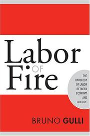 Cover of: Labor of Fire | Bruno Gulli